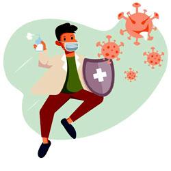 ترجمه کتاب رشته ویروس شناسی پزشکی